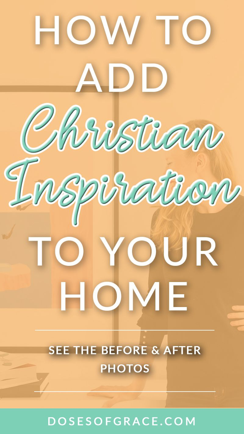 How to Add Inspiration to Your Home in Minutes | Christian living ...