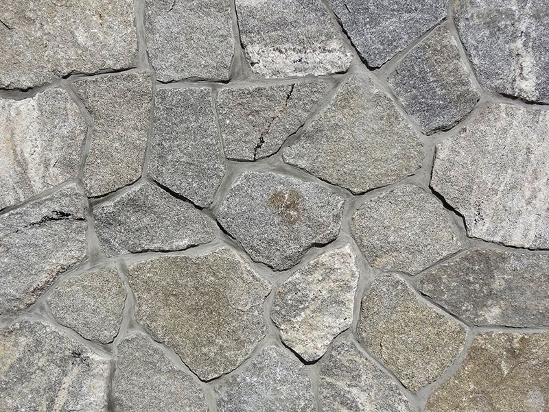 Thin Brick Veneer Stone Natural Thin Stone: Portsmouth Granite Natural New England Gray Speckled