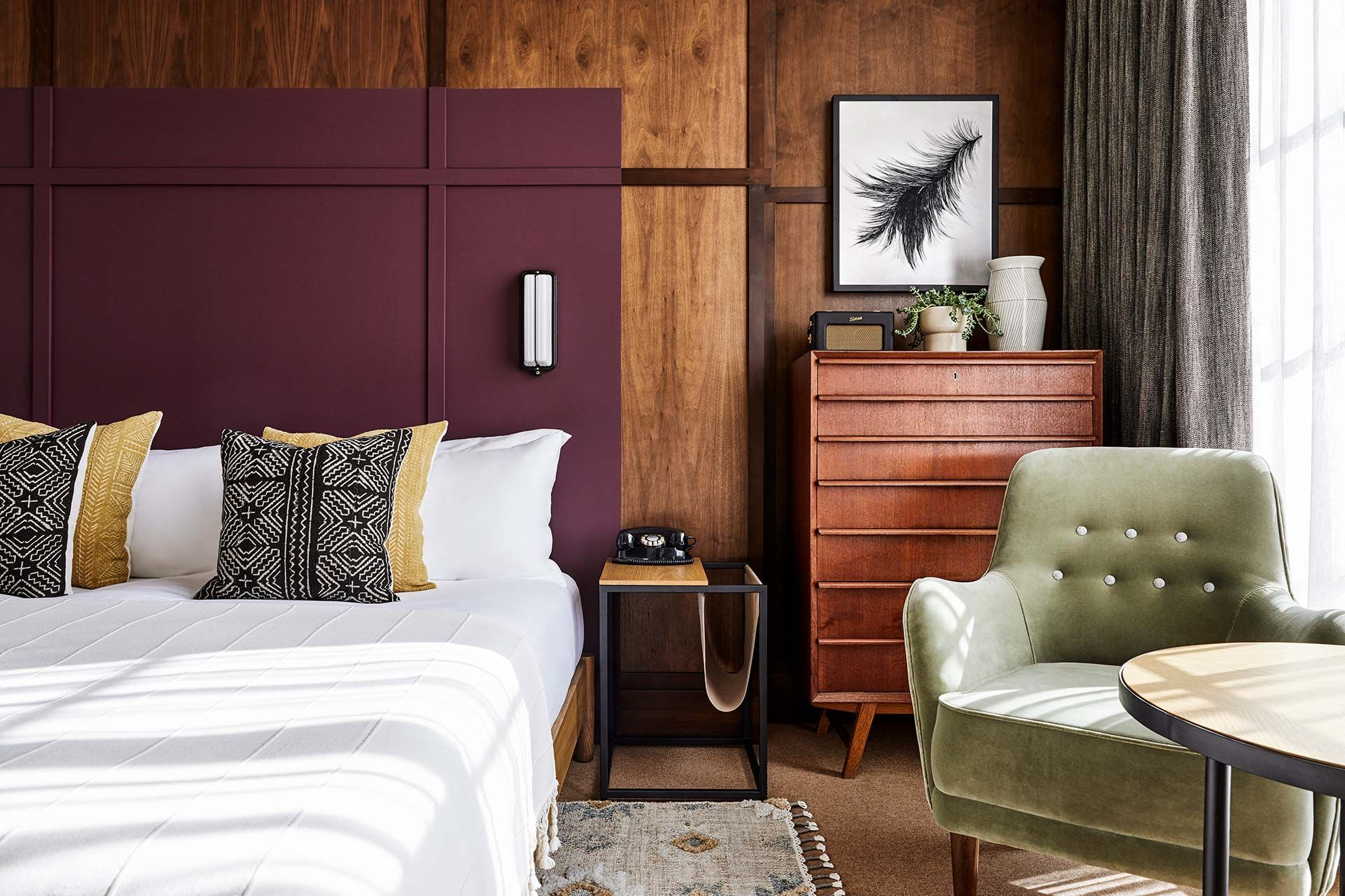 A new hotel in Portland, Oregon, The Hoxton offers 119