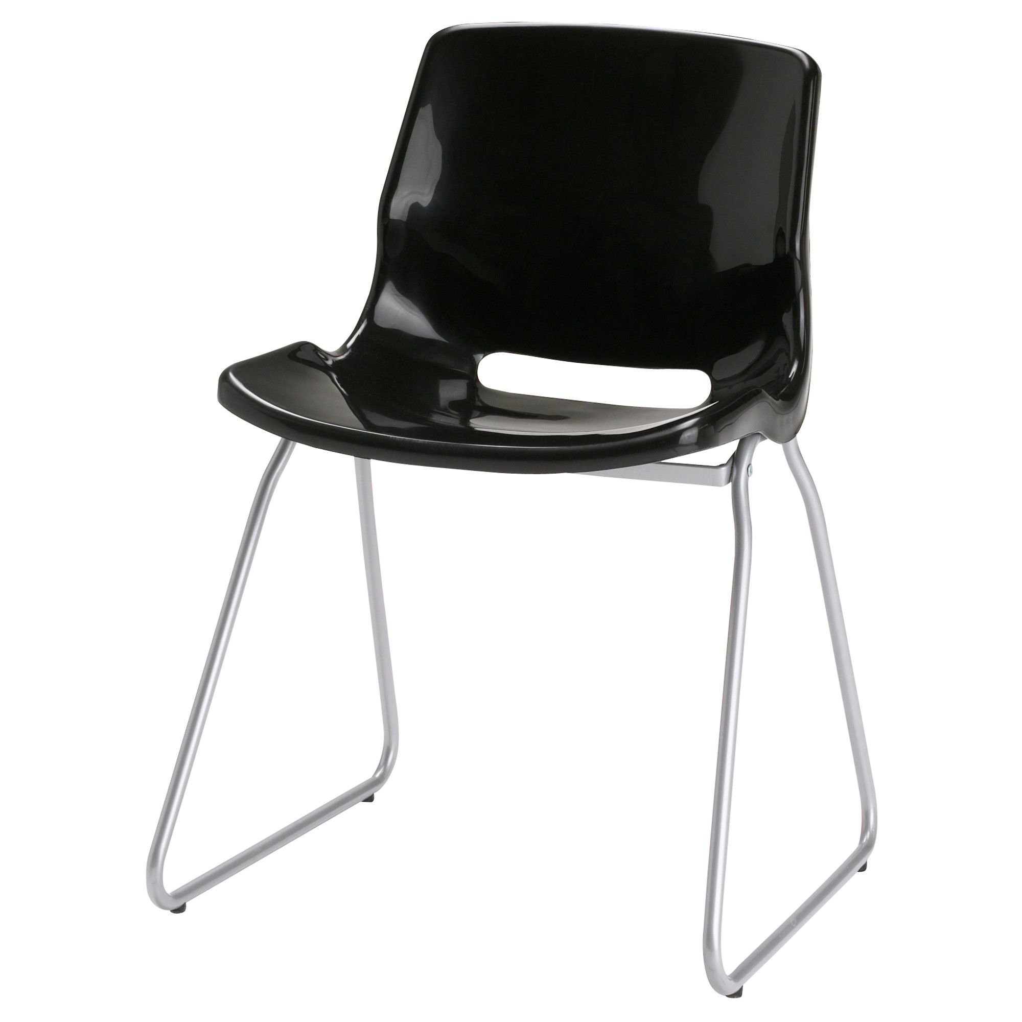 Not Eames IkeaOkayAgainIt's Chair Visitor Snille Black KT1lJcF3