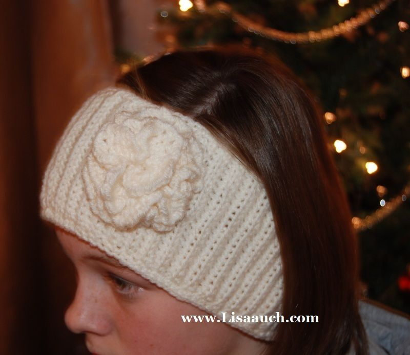 Free Head Band And Ear Warmer Crochet Pattern Crocheted Ear