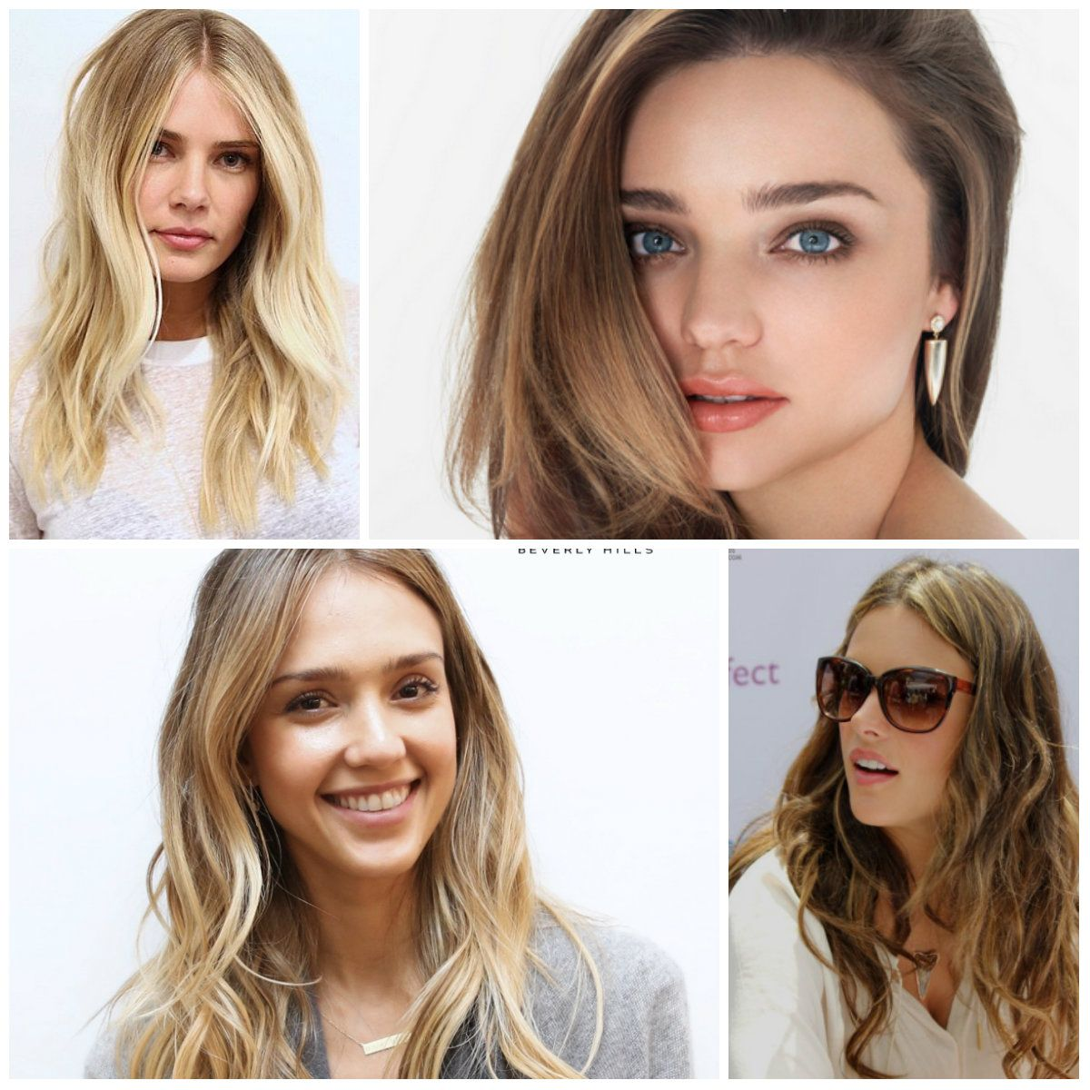 Multi-tone Blonde Brown Hair Colors 2017