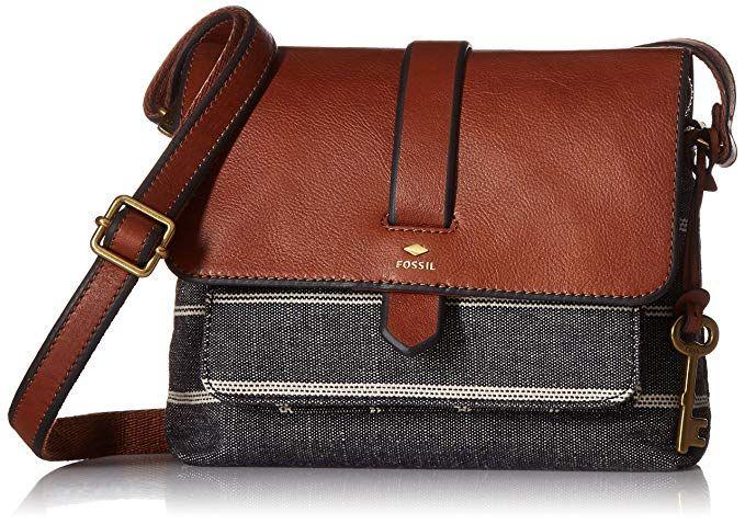 26cc69762 Fossil Kinley Small Crossbody Bag, Chambray,One Size | handbag in ...