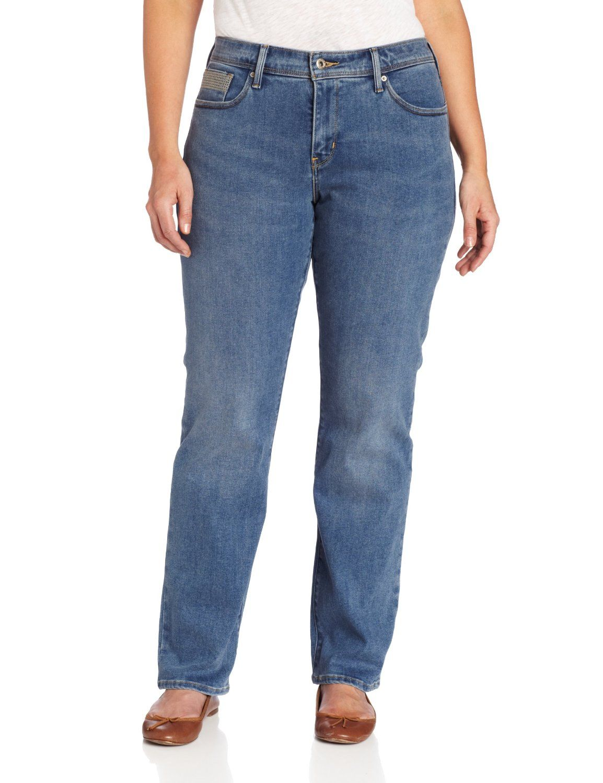 10097eb551 Levi s Women s Plus-Size 512 Perfectly Shaping Straight Leg Jean ...