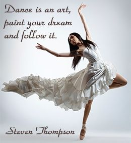 express yourself with these inspirational dance quotes
