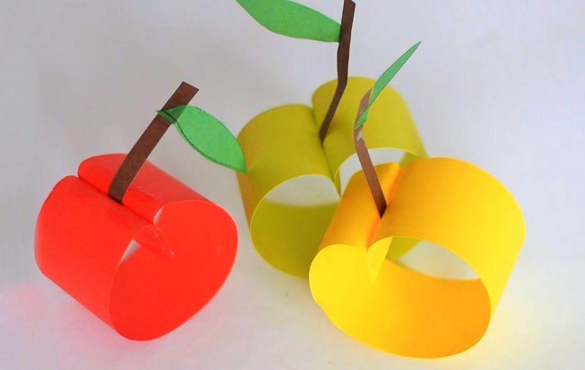 Manzanas de papel artesan a c mo hacer manzanas de papel - Como se hace manualidades ...