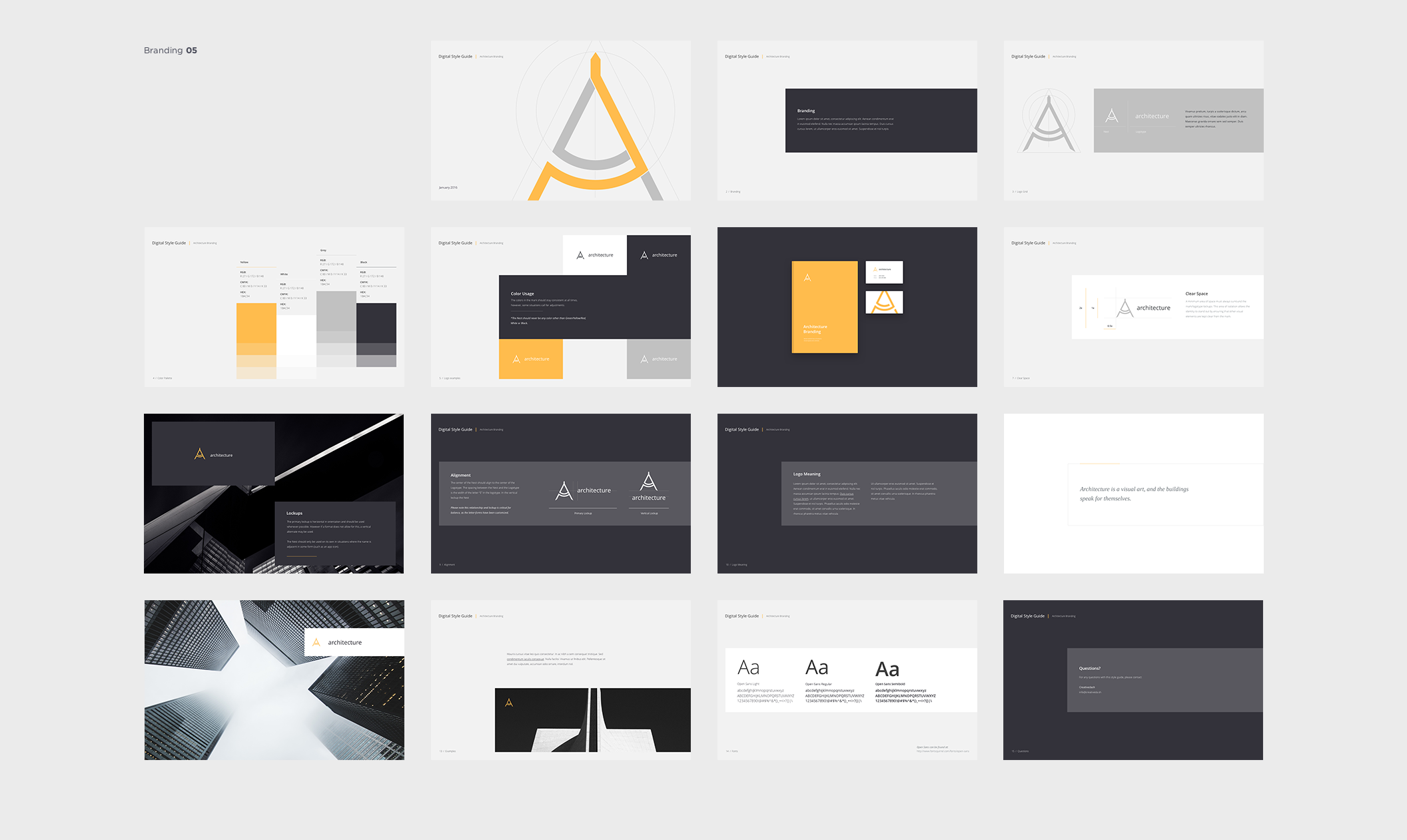 Guide Templates A Beautiful Collection Of 5 Different Style Guide Templates 75 .