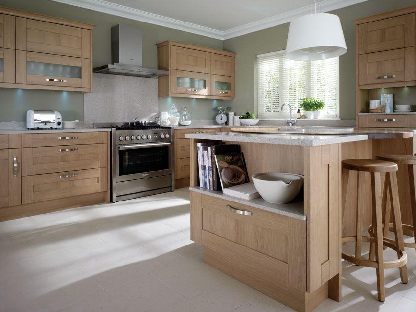 Best Modern Oak Kitchen Google Search Modern Oak Kitchen 400 x 300