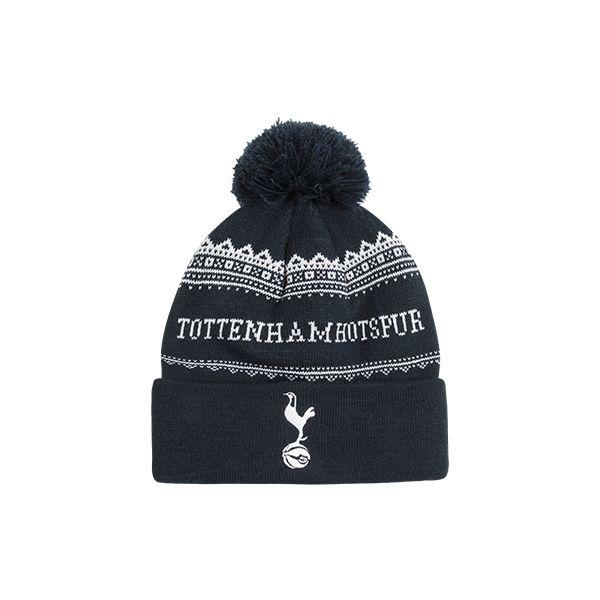 Spurs Mens Tottenham Hotspur Bobble Hat  35c89cf555e