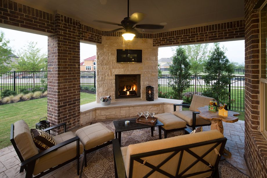 Maltese Outdoor Living Space New Homes Outdoor Living