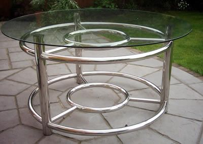 Delicieux Stainless Steel Furniture #table