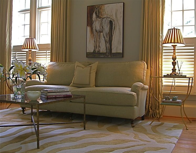 Updated Equestrian decor Love the neutral color, very refreshing