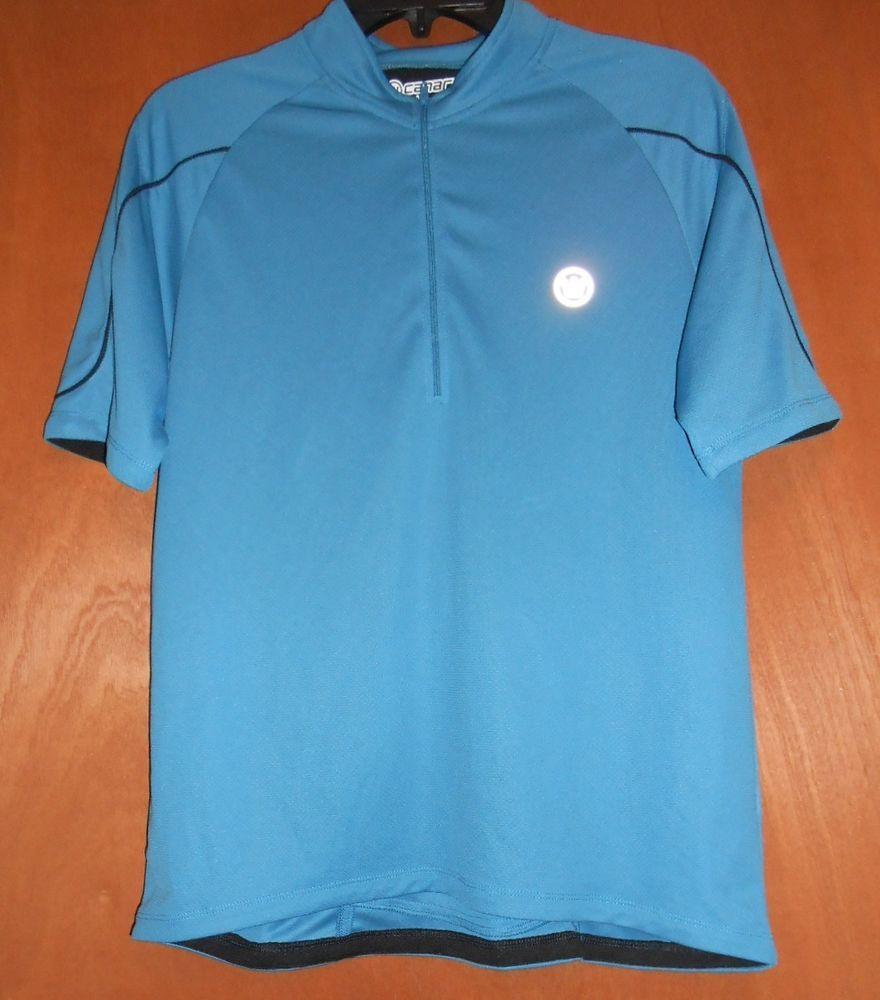 Canari Men's cycling TShirt reflective jersey Size L