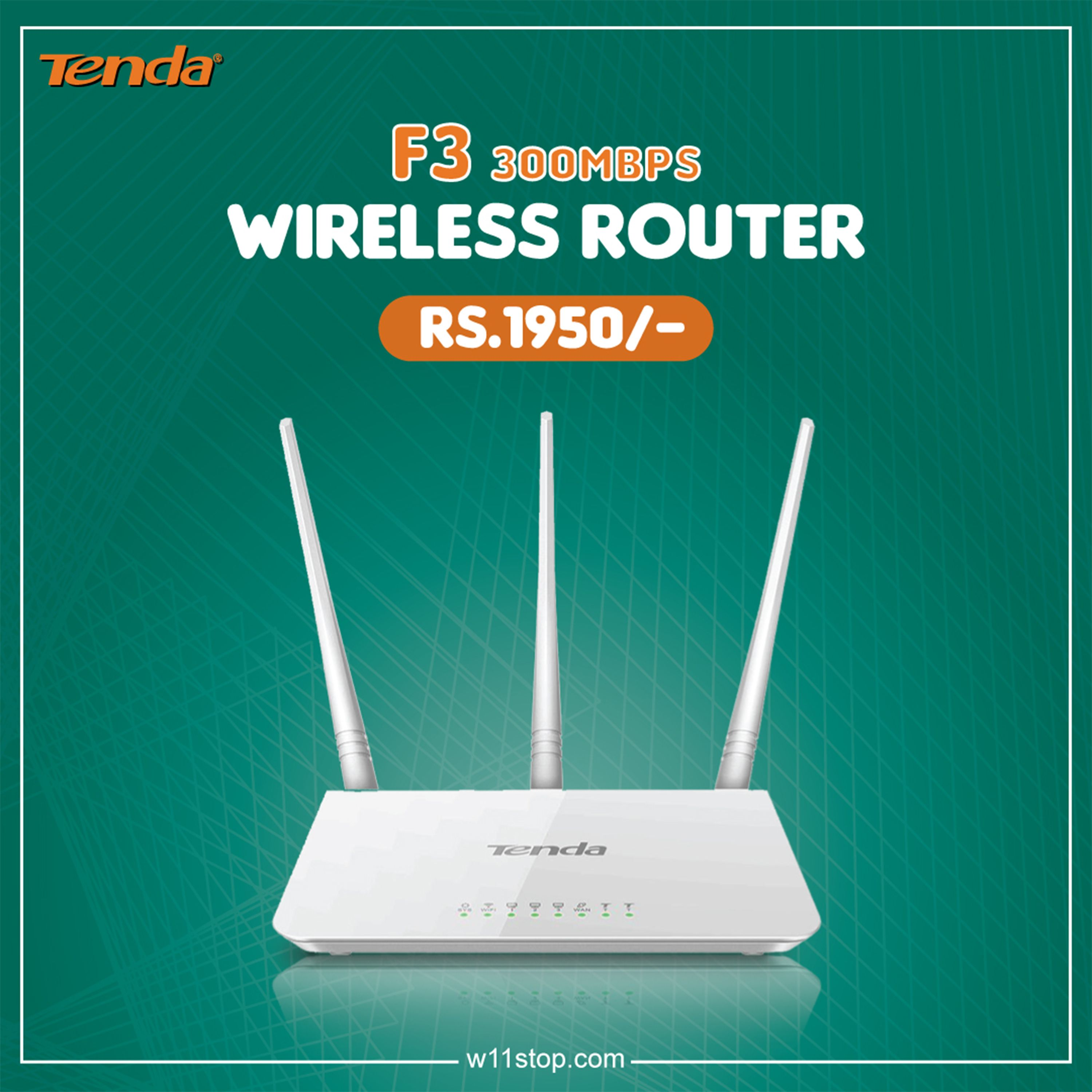 Tenda F3 300 Mbps Wireless Router Router Wireless Router Home Network