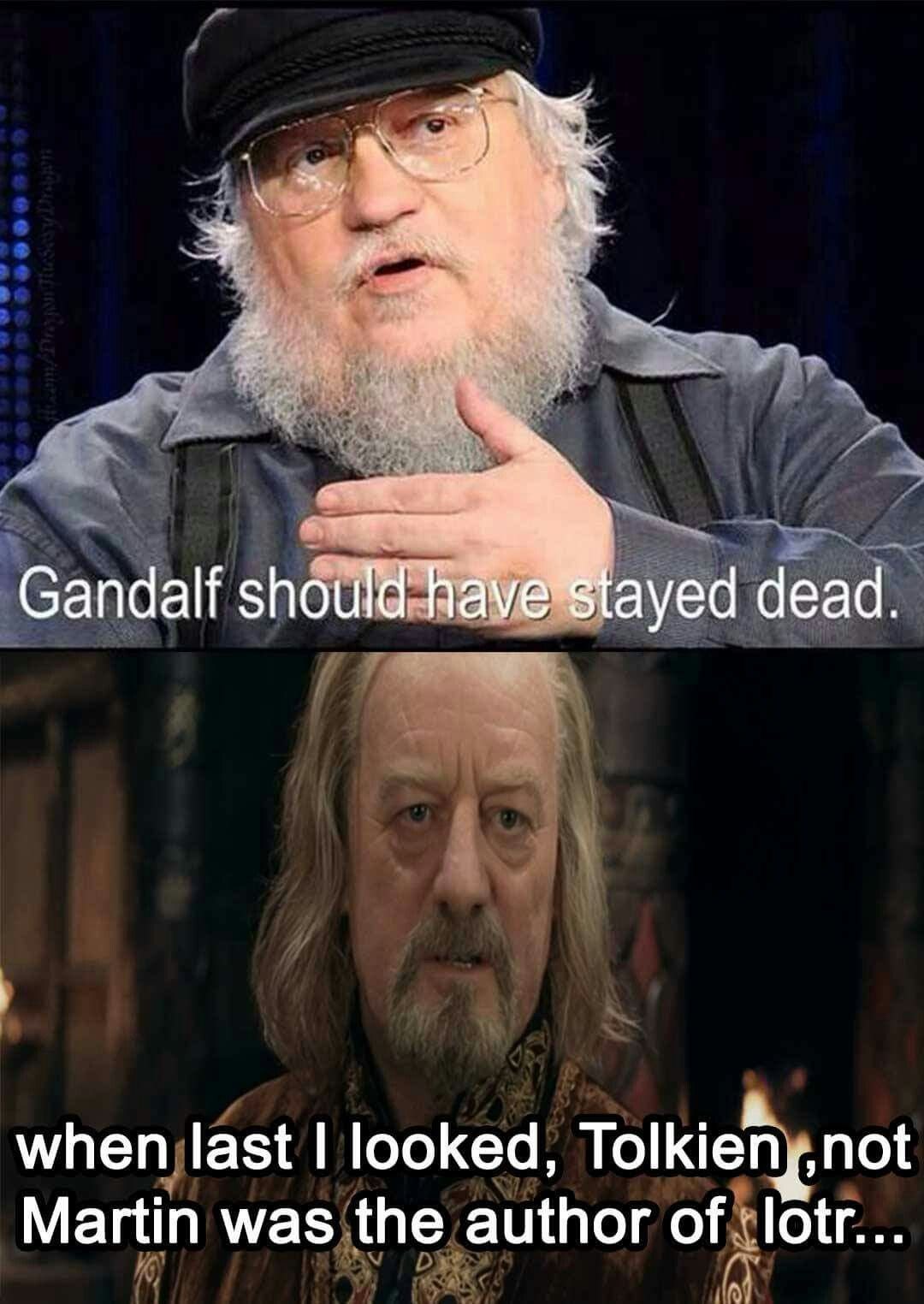 Gandalf Was A Symbolic Christ Figure George Why Is That So Hard To