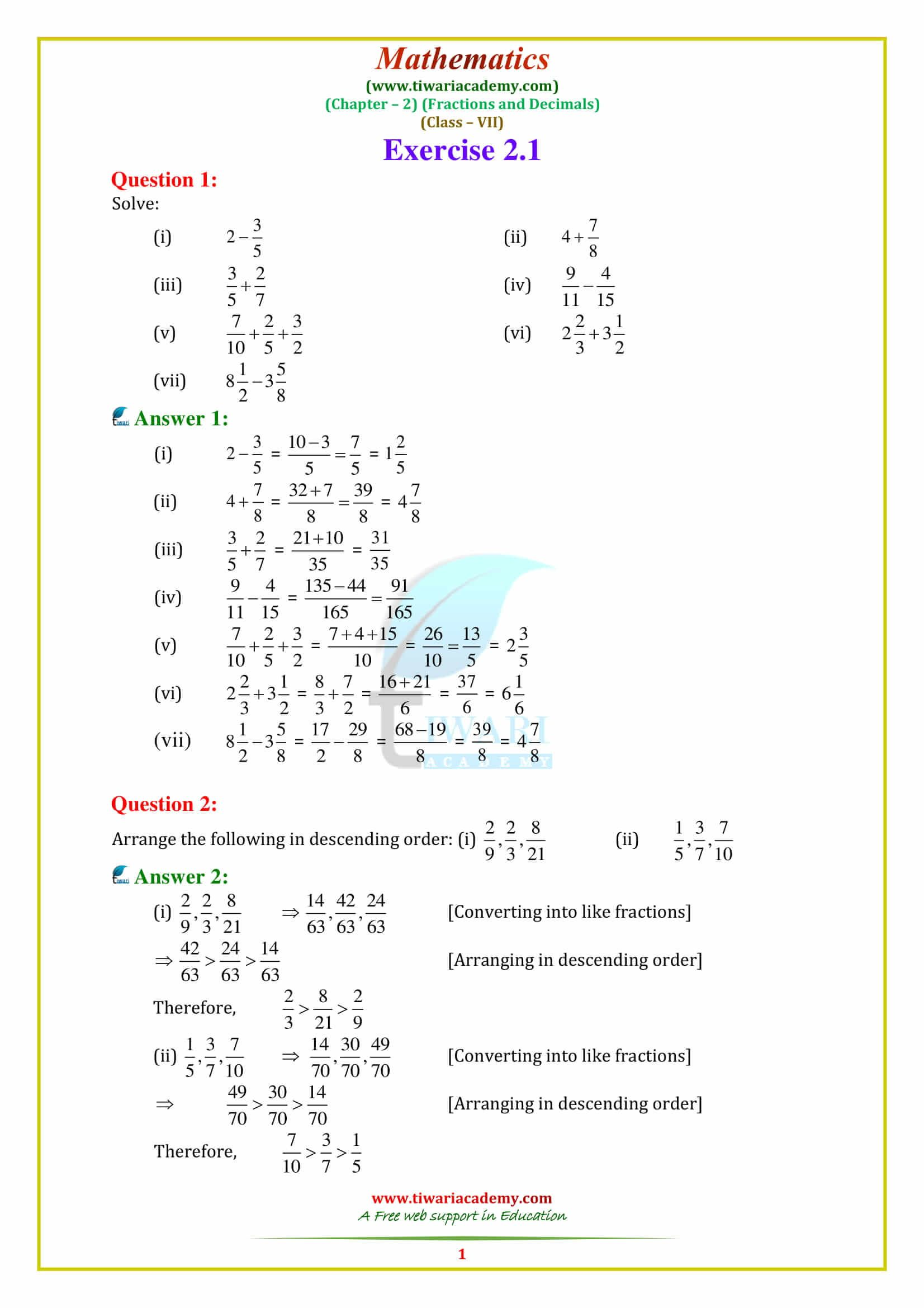 small resolution of Tenses Worksheet Class 7   Printable Worksheets and Activities for  Teachers