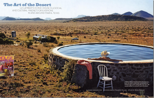 Liz Lambert Marfa Pool Absolutely Love That They Turned