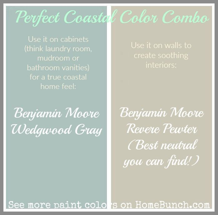 seafoam green color palette for bathroom the best beachy paint colors picked by the interior designers at