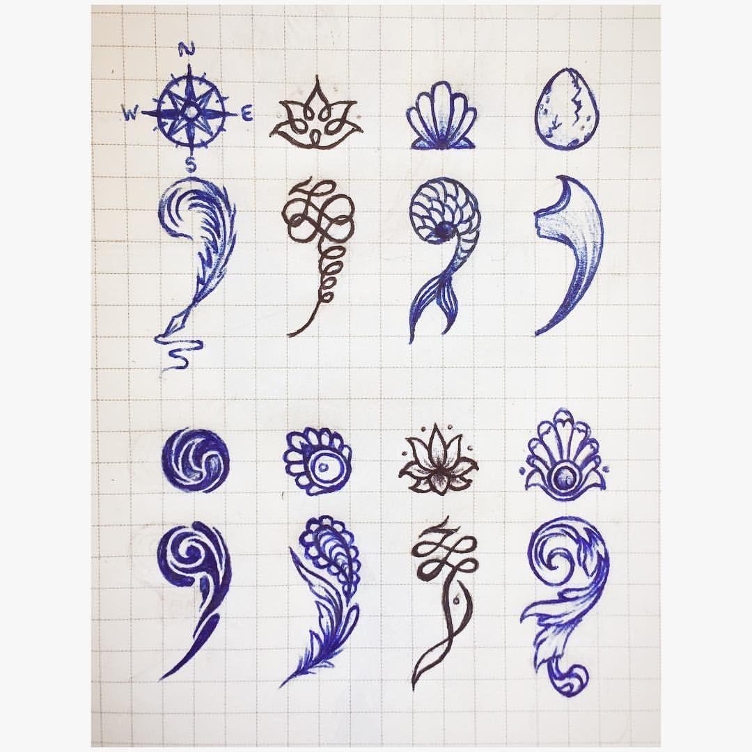 semicolon tattoo semicolon pinpoint. Black Bedroom Furniture Sets. Home Design Ideas