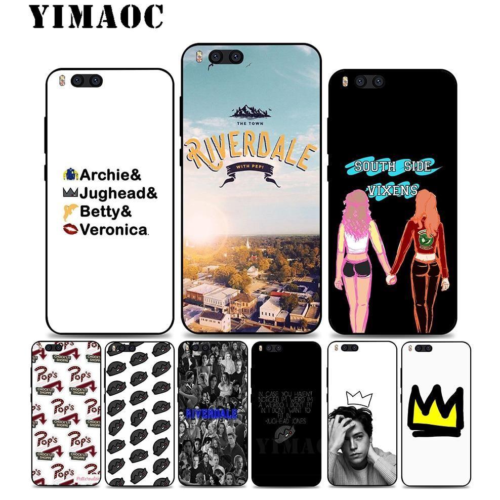 Yimaoc A6 American Tv Riverdale Soft Silicone Case For Xiaomi Redmi 6 Note 4x 4a 5a 5 Plus Mia1 A2 Pro Lite Mi 8 6 A1 A2 Yeste Silicon Case Case Soft Silicone