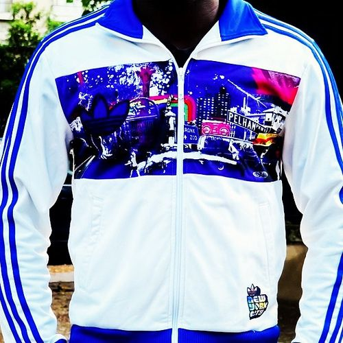 The Awesome Adidas Originals NYC The Bronx Track Top by
