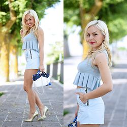 Eleonora Petrella - Ventifive Crop Top, Ventifive Shorts - How to wear a crop top
