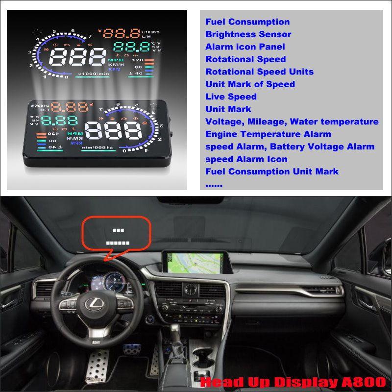 For Lexus 450H/ LX/ LX570/ RX/ RX350 2015 2016 Car Head Up
