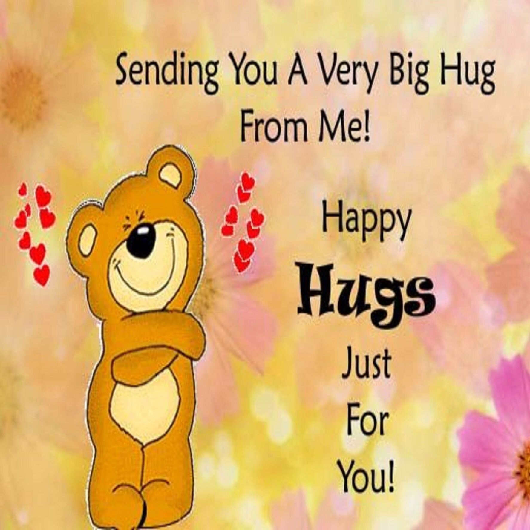 Pin By Amy On Sayings Hug Quotes Hugs And Kisses Quotes Happy Hug Day