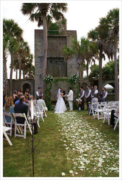 Our Wedding At Atalaya Castle Pawleys Island Wedding Venues Castle Wedding