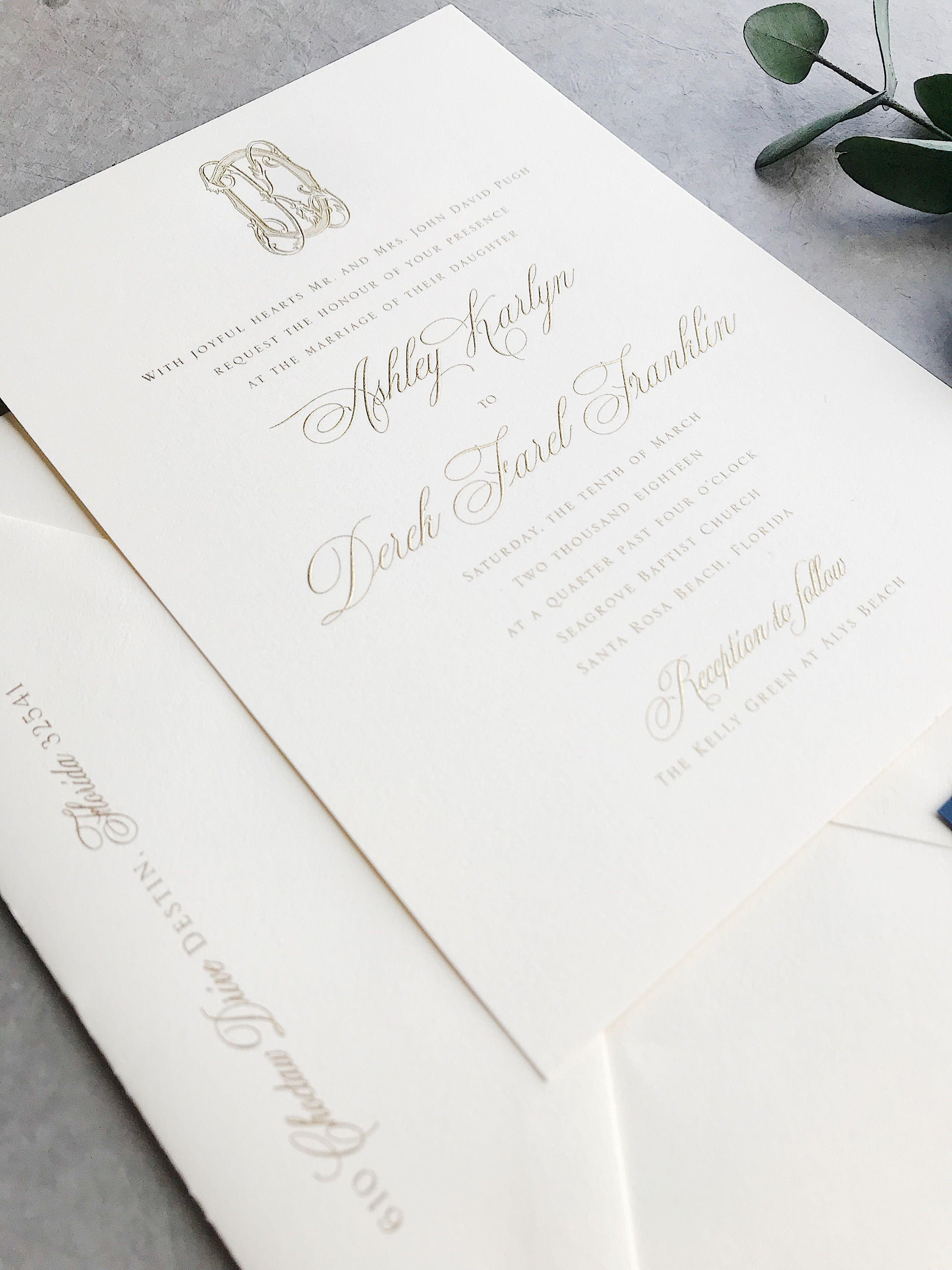 Karlyn Wedding Invitation Deposit Listing wedding