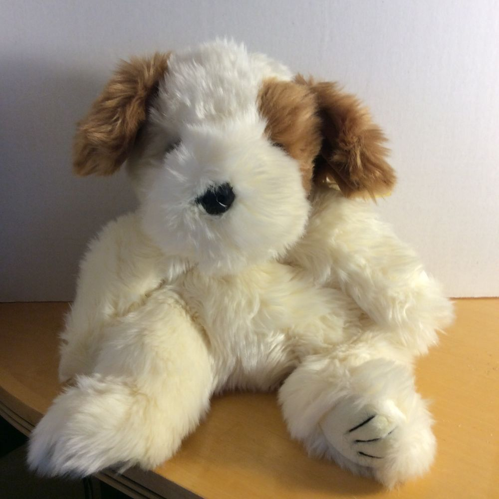 1995 Ty Beanie Classic Patches Puppy Dog Plush Stuffed Toy Brown White 18 Long Soft Toy Dog Plush Stuffed Animals Ty Toys [ 1000 x 1000 Pixel ]