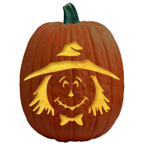 Free pumpkin carving patterns and stencils based on