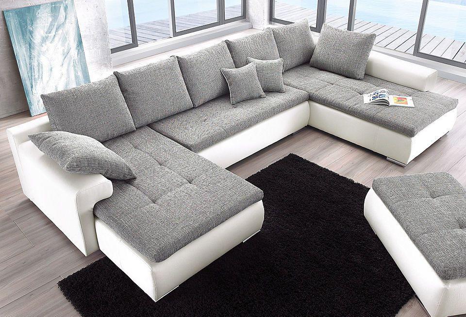 Quelle Sofa collection ab wohnlandschaft wahlweise mit bettfunktion jetzt