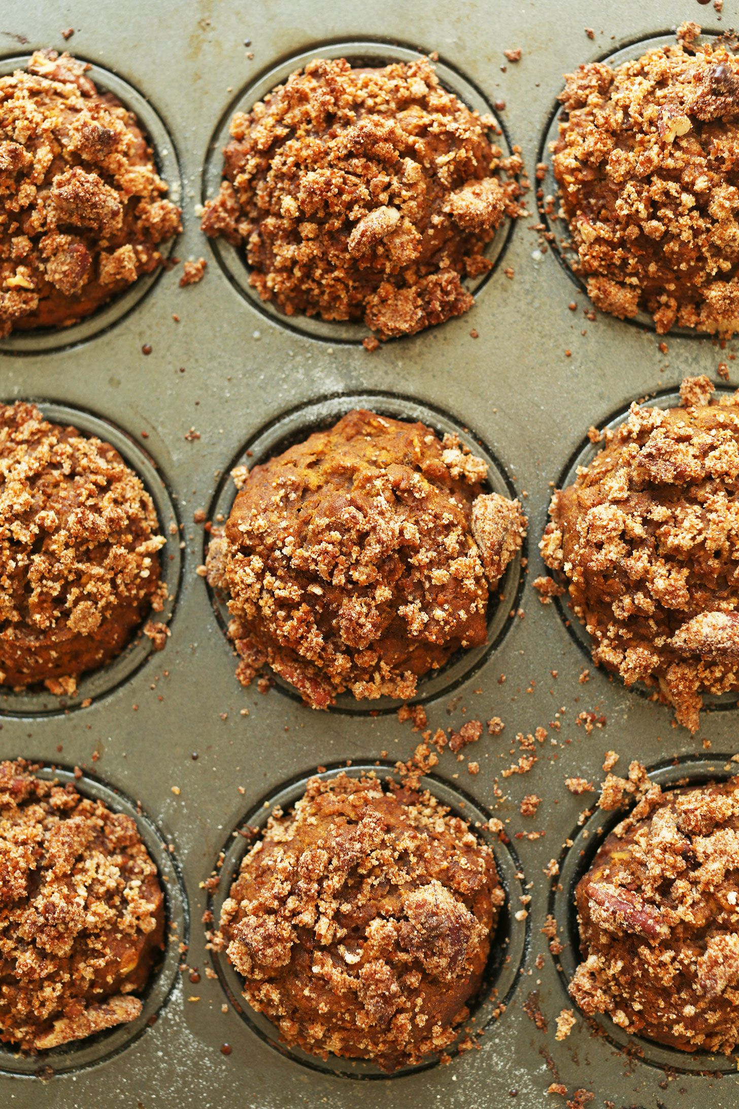 1 Bowl Vegan Pumpkin Muffins