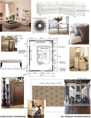 Jill Seidner Interior Design Concept Boards Interior Design Mood Board Interior Design School Interior Design Presentation Boards