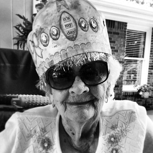 from Alabama Chanin - Grandmother Smith - 93 years old - happy birthday