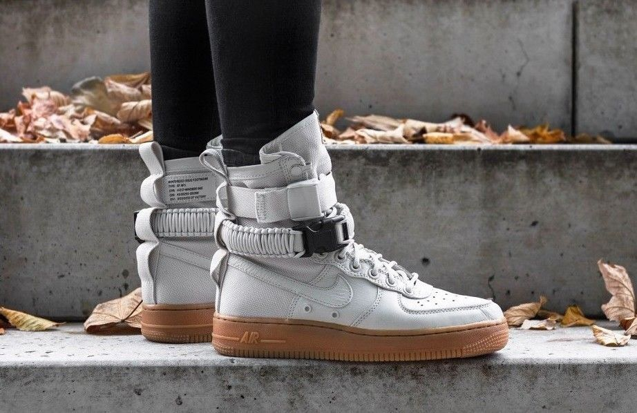 Nike W Sf Air Force 1 Light Bone Limited Edition Sneakers All Sizes Air Force Nike Hype Shoes