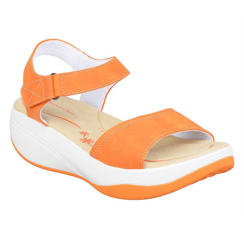 Ca Cha Wedge Sandals CC-1177 (Orange)