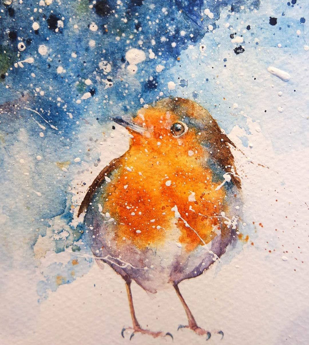 Bird Watercolor Paintings Image By Sasha Ciuffini On Tats
