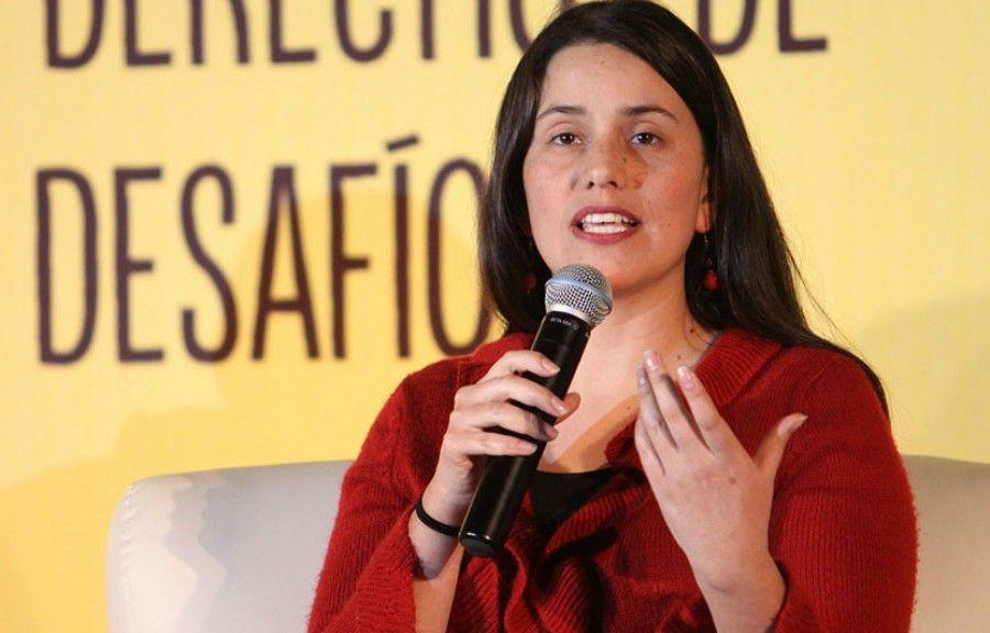 """Huy Carajo: Verónika Mendoza: """"Cada vez que subimos en las enc..."""