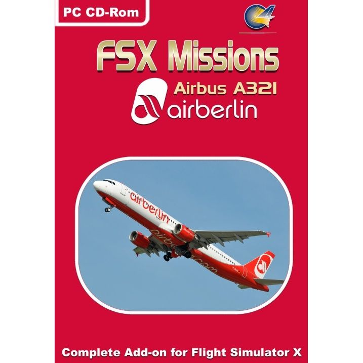 FSX Missions - Air Berlin A321   Flight Simulation   Aviation