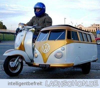 vw b ssle beiwagen motorad moped vw motorrad bus vintage vespa vw t1 und motorrad fahren. Black Bedroom Furniture Sets. Home Design Ideas