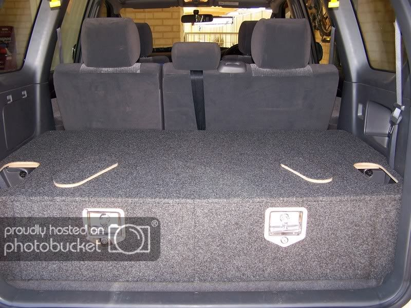 Home Made Drawers Under 110 Basic Measurments Added Pradopoint Toyota Prado 4x4 Landcruiser Forum Land Cruiser Prado Suv Storage