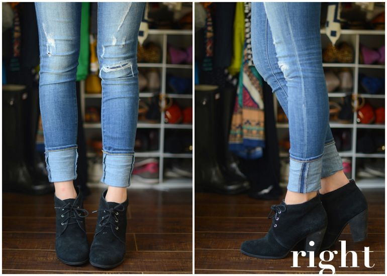 How To Cuff Your Jeans With Ankle Boots Part 2 Fashion