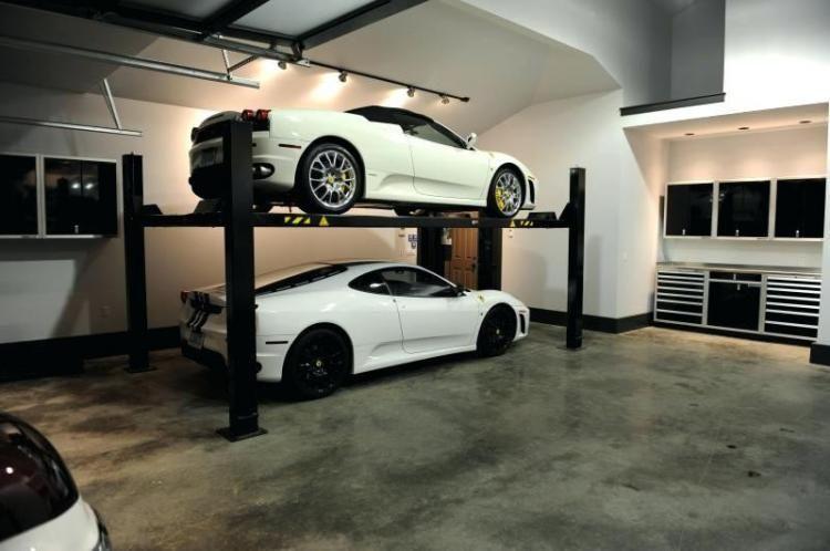 Car Lifts Auto Car Storage Auto Lifts 4 Post Lifts Garage Interior Garage Design Interior Garage Renovation