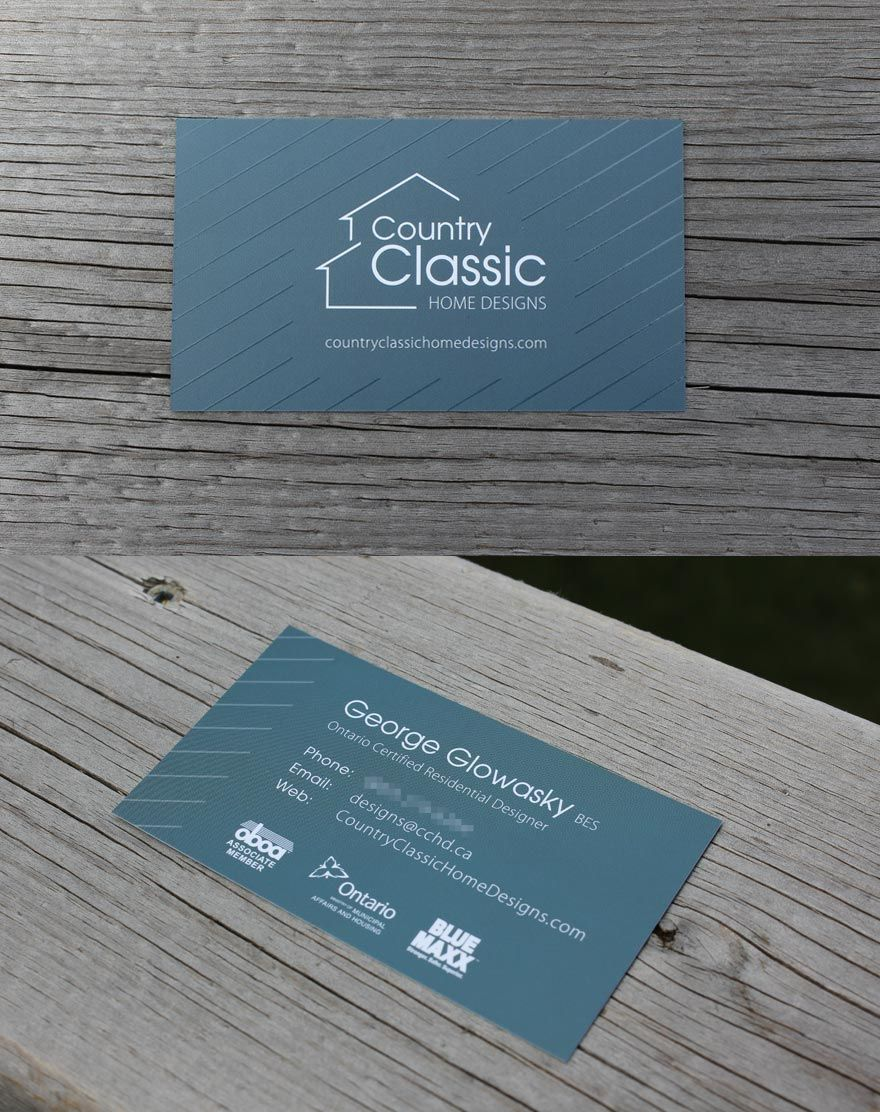 Country Classic Home Designs - Business Cards | by Gibbous, Canada ...