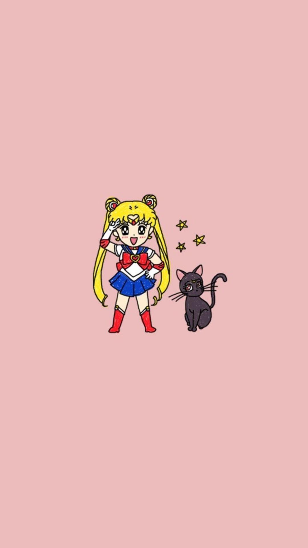 1080p 1280x2272 Aesthetic Android Backgrounds Characters Desktop Iphone Phonebackgroundstumblr In 2020 Sailor Moon Wallpaper Sailor Moon Sailor Moon Aesthetic