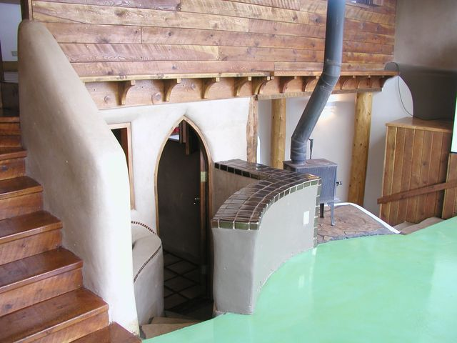 Earthship Interior | New Mexico earthship for sale - interior