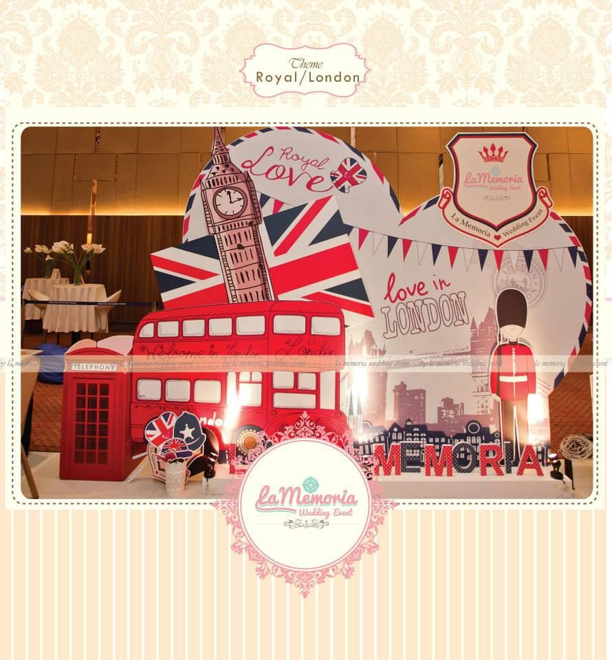 London- Royal Love Themed By La Memoria Wedding Event