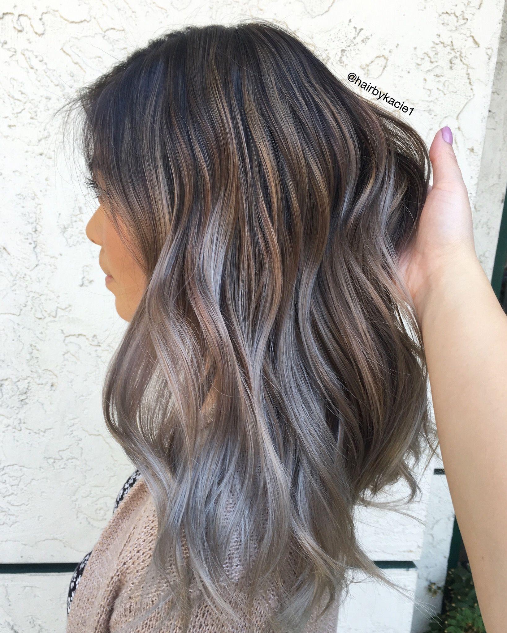 Ashy Babyhighlights Hair Pinterest Hair Coloring Hair Style